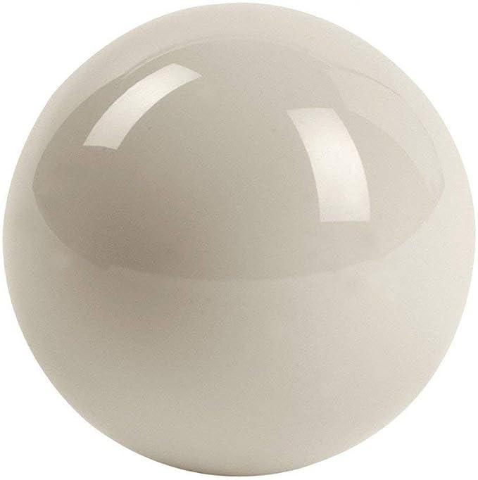 ClubKing - Bola de billar (47,6 mm de diámetro), color blanco ...