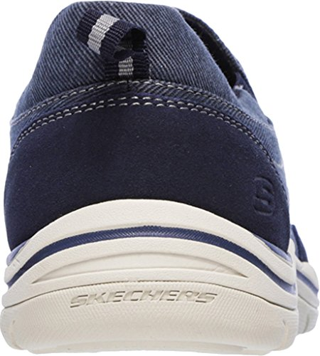 Skechers Men's Expected Toman Slip-on Loafer Blue (Navy) 1zNo0yBU