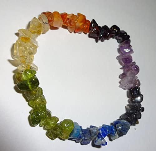 Elasticated Crystal Bracelet Healing Crystal Bracelet Spell Chakras Crystals Snake Dragon Jade crystal chip bracelet Gifts