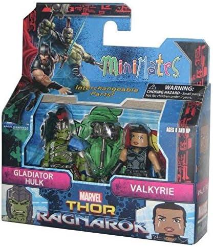 Marvel Minimates TRU Toys R Us Thor Ragnarok Movie Gladiator Thor /& Hela