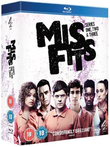 Misfits: Series 1, 2 & 3 [Blu-ray]