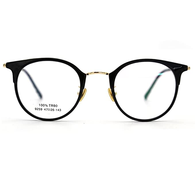 658f6a2762f Image Unavailable. Image not available for. Color  Natwve Co TR Fashion  Glasses Women Eyeglasses frame Vintage Round ...