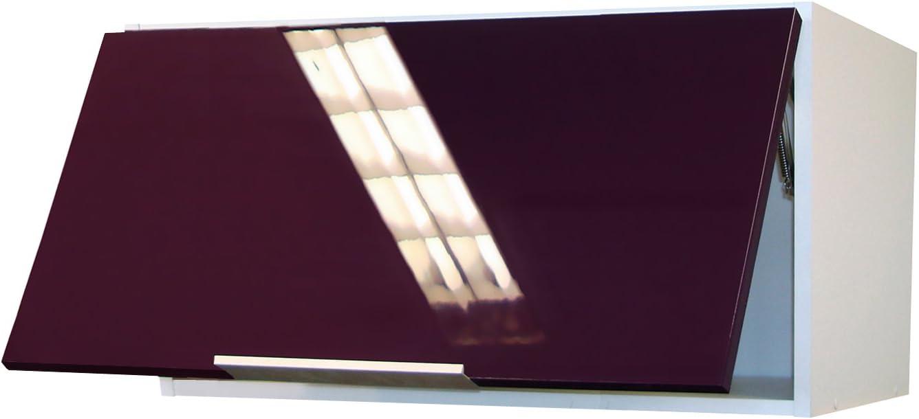 80 x 34 x 35 cm Berlioz Creations CH8HN Mueble Alto para Cocina o Comedor Color Negro