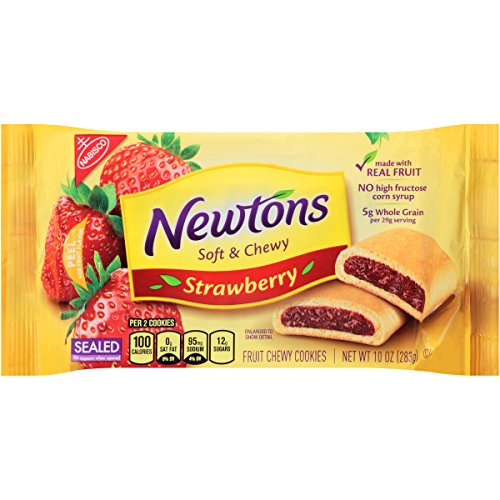 Newtons Fruit Chewy Cookies, Strawberry, 10 Ounce