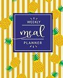 Weekly Meal Planner: 52 Weeks of Meal Planning, Weekly Meal Planner Notebook Journal, Meal Prep Planner, Menu Food Planners, Health Fitness Dieting ... (52 Week Meal Planning Calendar) (Volume 4)