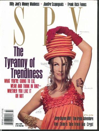 (SPY Jamie Lee Curtis Billy Joel Frank Rich Roy Cohn David Letterman ++ 3 1991)