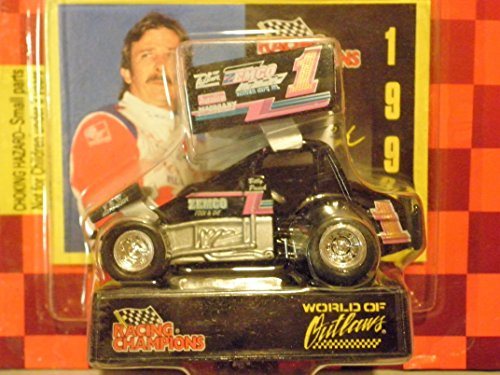Checkered Flag Diecast - Sprint Car World of Outlaws Billy Pauch 1997 Red Checkered Flag Card 1:64 scale die-cast Racer by Racing Champions