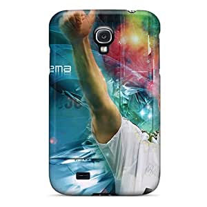 Hot Fashion DMDyM12648giCkL Design Case Cover For Galaxy S4 Protective Case (the Best Football Player Of Real Madrid Karim Benzema)