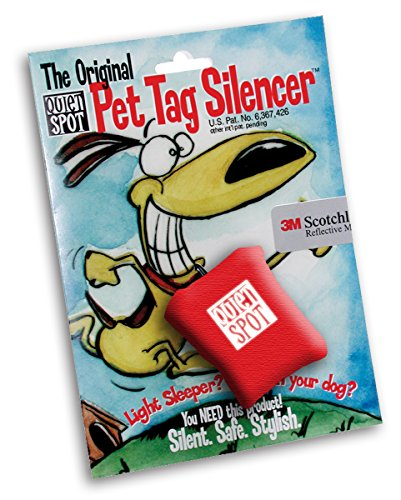 Quiet Spot Pet Tag Silencer (Red)