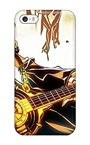 NqQOPEb9036GXPNt Anti-scratch Case Cover DanRobertse Protective Blondes Vocaloid Kagamine Rin Guitars Case For For iphone 5c (3D PC Soft Case)