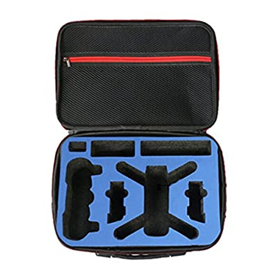Waterproof DJI Spark Carrying Case Shoulder Bag with EVA Interior for Travel Home Storage