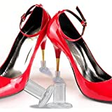10 Pairs Crystal High Heel Protectors Latin Stiletto Dancing Covers Antislip Silicone High Heeler For Wedding (S)