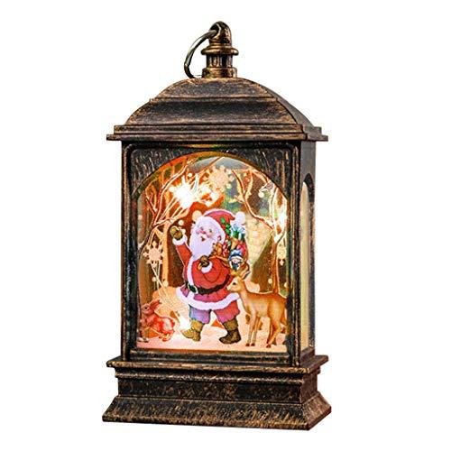 Clacce Light Ornaments Craft, Christmas Decorations Light Ornaments Craft Home Decor Suspendu Pendentif Joyeux Noël Décoratif Décor De Noël Ornements Décor De Fête Cadeaux pour Enfants
