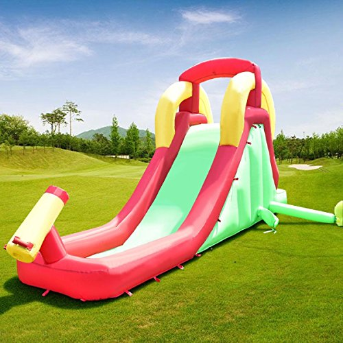 Jumper Climbing Inflatable Moonwalk Water Slide Bounce House by Apontus