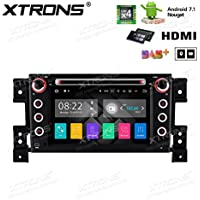 XTRONS HDMI 2G RAM 16G ROM Android 7.1 Quad Core 7 Inch HD Digital Touch Screen Car Stereo Radio DVD Player GPS for Suzuki Grand Vitara 2005-2013