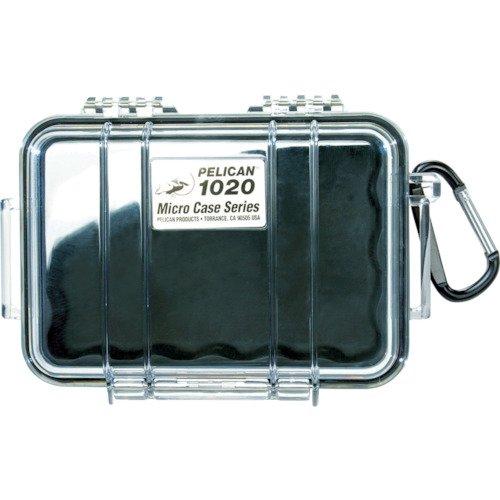 Pelican 1020 Micro Case (Black/Clear)