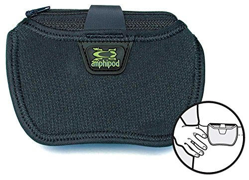 Amphipod Running Gear - Micropack Satellite lock on pouch by Amphipod Black