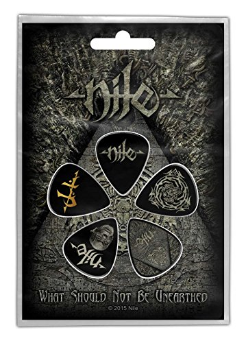 Nile 5 plectrum pack guitar picks