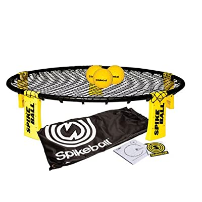 3 Pc Round Spike Ball in Yellow: Sports & Outdoors
