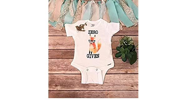 dedeabde8 Amazon.com: Zero Fox Given Baby Bodysuit, Baby Shower Gift, Hipster Baby  Clothes, Boho Baby Clothes, Funny Baby Bodysuits, Newborn Photo Prop,Unisex  Baby ...