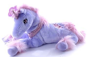 Unicornios sedosas suaves - púrpura del unicornio - Juguetes para niñas