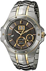 Seiko Men's SNP108 Analog Display Japanese Quartz Two Tone Watch