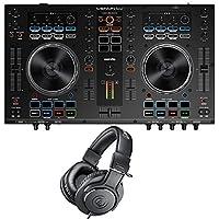 Denon DJ MC4000 2-Ch 2-Deck Serato DJ Controller - New. W/ ATH20X