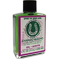 INDIO Oil- Spirit Of Good Luck Chango Macho 1/2oz