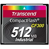 TRANSCEND 512MB CF Card 300x UDMA5 Type I SLC Industrie