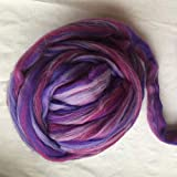 Maslin Mixture Merino Wool for Felting Wool roving Fiber 50g 100g 200g 300g 500g 1000g Perfect in Wet and Needle Felting - (Color: 500g)