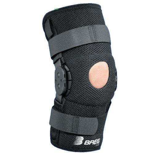 Breg Brace (Breg Shortrunner Airmesh Wraparound Hinged Knee Brace (Medium))