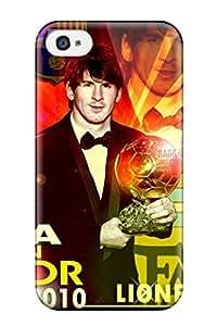 IDqoidX5186MFGxb Case Cover, Fashionable Iphone 4/4s Case - Lionel Messi Fifa Ballon