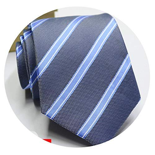 Men Ties Solid Color Stripe Flower Floral 8cm Jacquard Necktie Daily Wear Cravat Wedding Party ()