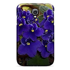 S4 Scratch-proof Protection Case Cover For Galaxy/ Hot Be Purple Phone Case