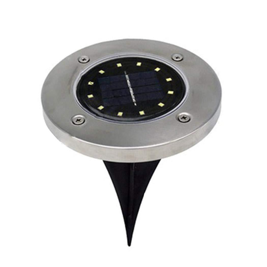 folowe Percorso della Solar Power LED Illuminato Sentiero Giardino sotto la Luce terrazza Illuminazione
