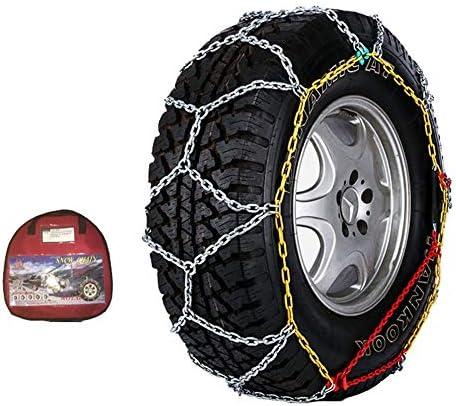 携帯用緊急牽引車のスノータイヤの滑り止めの鎖 ポータブル タイヤチェーン高性能金属ジャッキアップ気にしないでください(3ステップ)コンパクトスピディアディアディア TPUバンおよび軽トラック用ユニバーサルフィットタイヤ繰り返し使用 (Size : 255/55-18)