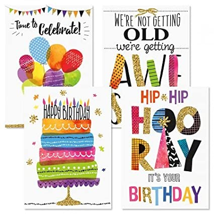 Amazon Contemporary Birthday Greeting Cards Set Of 8 4