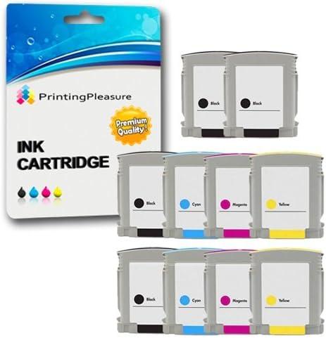 Printing Pleasure 10 Cartuchos de tinta compatibles para HP ...