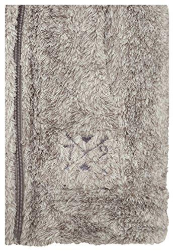 Nero Marrone Sublevel Grigio Giacca Di Disponibile Nei Morbida Colori Pile Donna Collo In Peluche E A Da Alto qaqFg