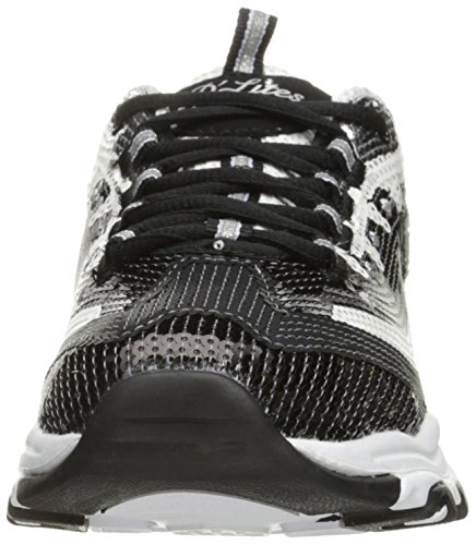 Skechers D'Lites-Made To Shine Damen US 7.5 Schwarz