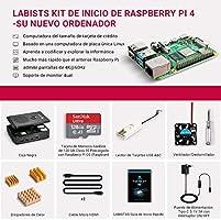 LABISTAS Raspberry Pi 4 8GB Kit Incluido Tarjeta SD 128GB ...