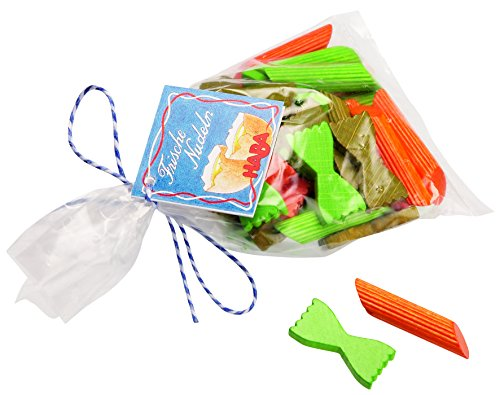 Haba Toy Bag (HABA Wooden Play Pasta (Made in Germany) - Styles Vary)