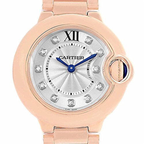 Cartier Ballon Bleu Quartz Female Watch WJBB0016 (Certified Pre-Owned)