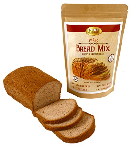 Certified Paleo Bread Mix -100% Grain and Gluten Free! (Low Carb Gluten Free Bread compare prices)