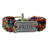Gay Rainbow Sisters Gay Pride Paracord Bracelet Pride Review and Comparison