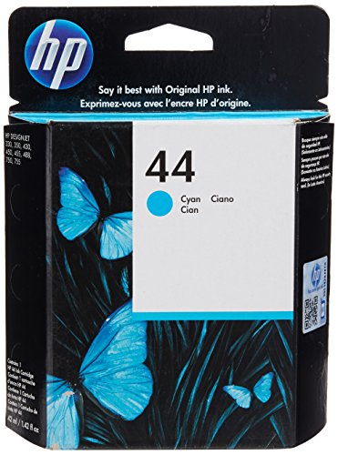 HP HEW51644C Ink Cartridge, Cyan, Inkjet, 1100 Page
