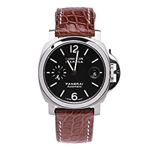 Officine Panerai Luminor automatic-self-wind mens Watch PAM00048 (Certified Pre-owned)