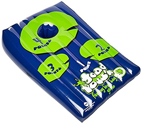 Driveway Games Toad Toss'n - Floating Bean Bag Toss Game (Backyard Beans)