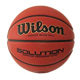 Wilson B0686X Solution Official Basketball, Orange, Size 6