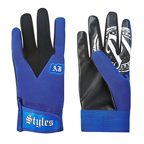 AJ Styles P1 Logo Pro Wrestling Fight Gloves